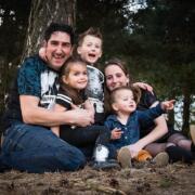 Gezinsshoot of Familie fotoshoot in Nijmegen Fotograaf Nijmegen