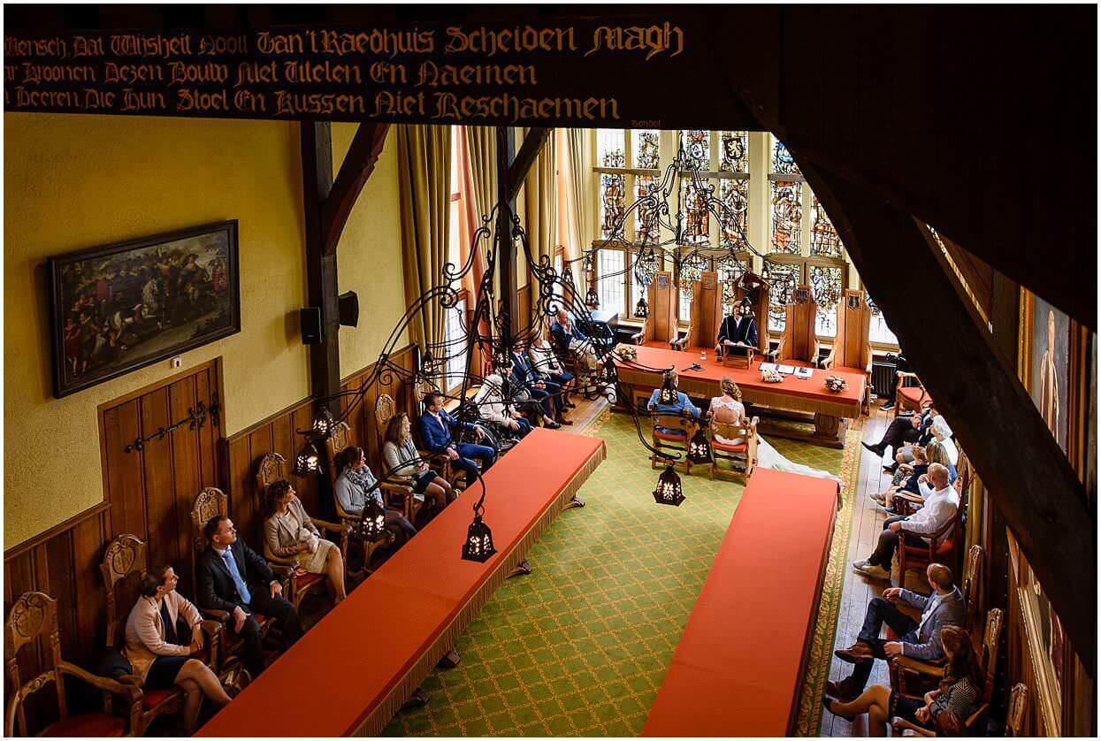 2017,Bruiloft,Het Wout,Marijn & Helma,Oss,Raadhuis,Vught,