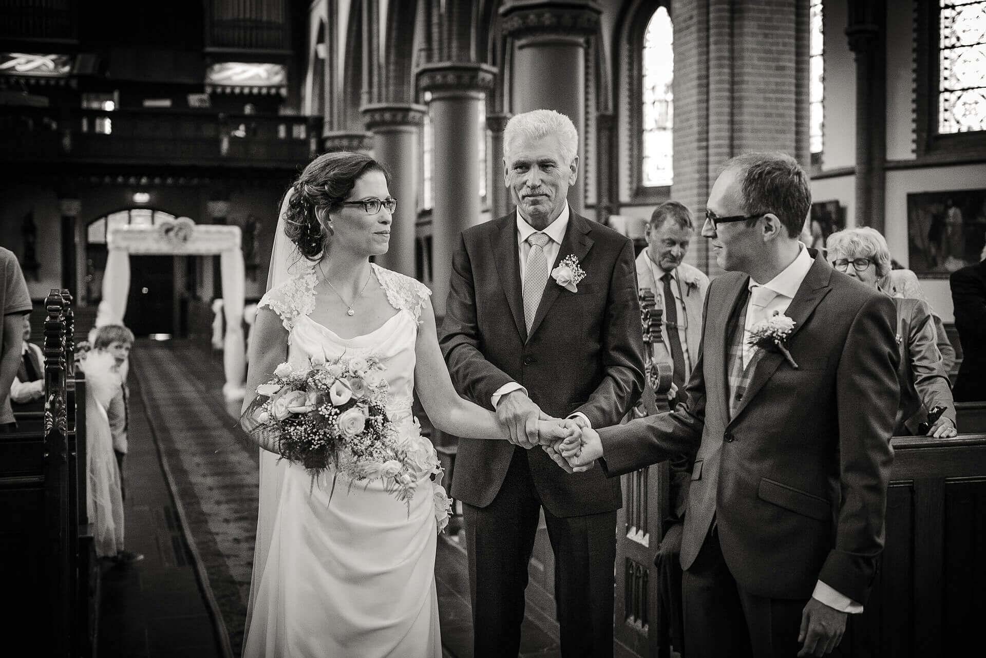 2017,De Hoeve,Huwelijk,Jochumhof,Martinus kerk Tegelen,Tegelen,Venlo,Zwart-Wit,