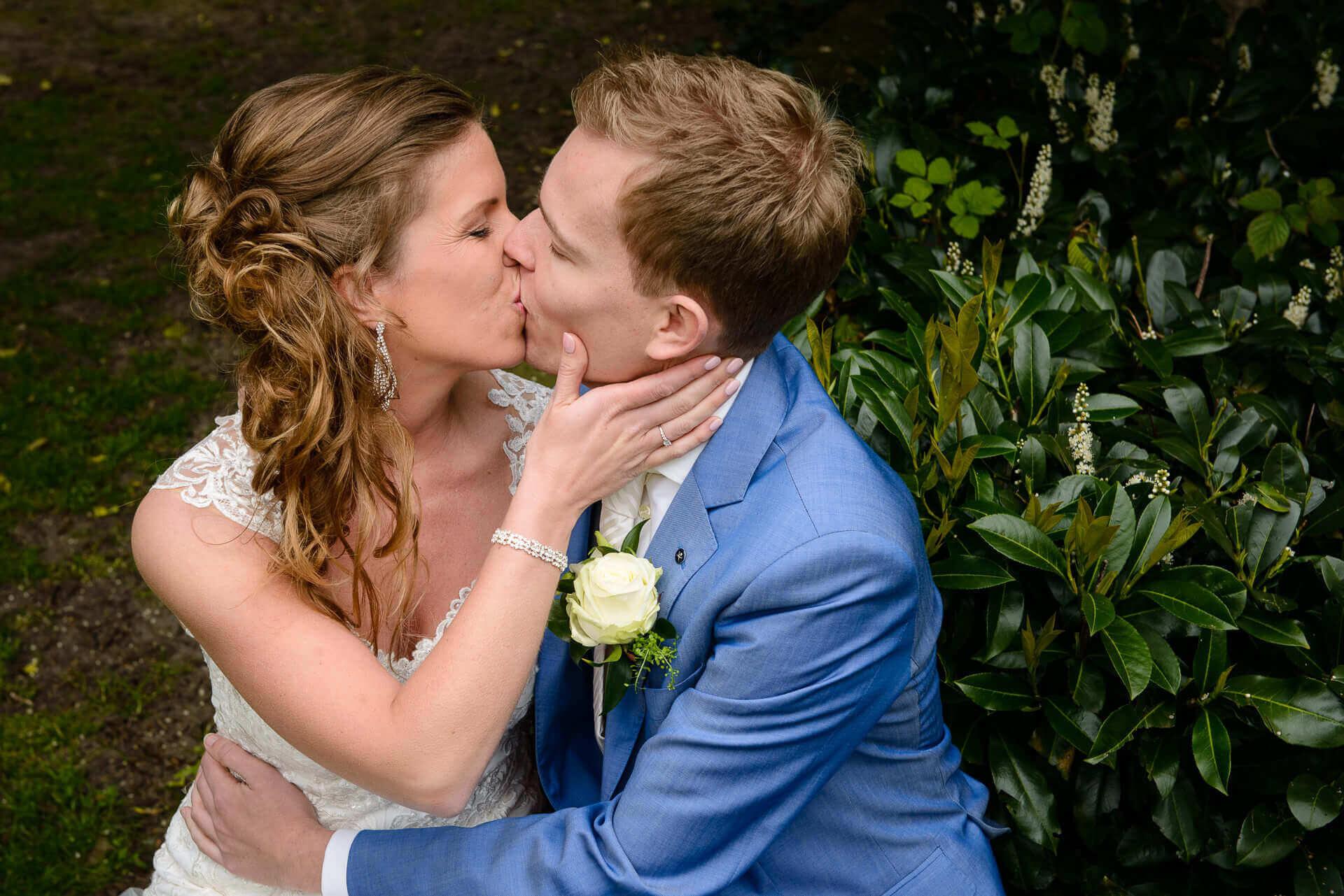 Bruiloft fotograaf Sandy Peters fotografie Raadhuis in Vught Noord-Brabant