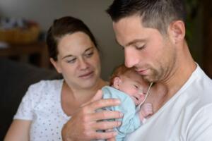 Newborn fotografie Heeswijk-Dinther door Lifestylefotograaf Sandy Peters