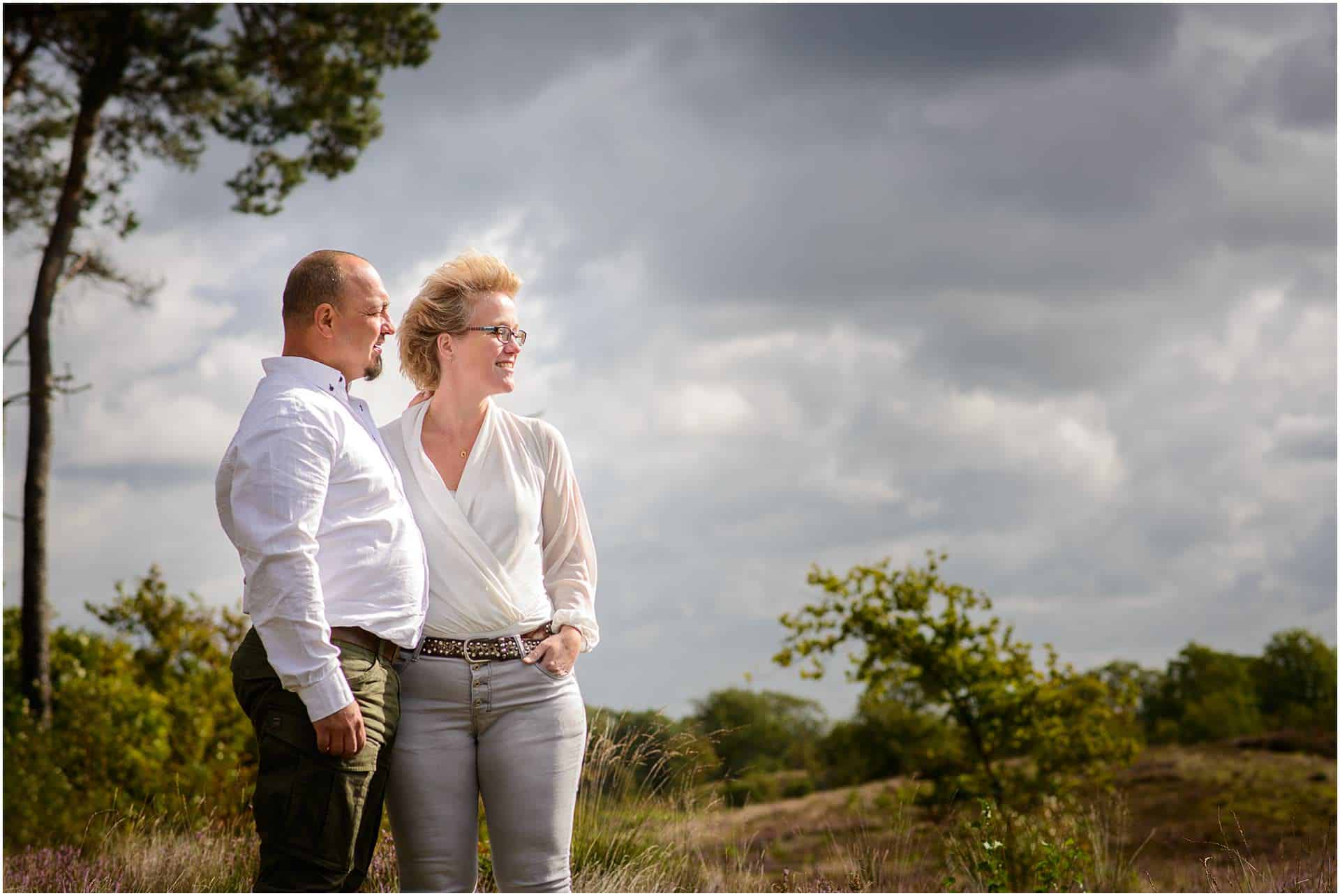 2017,Haterdse Vennen,Joren & Nienke,Joren & Nienke Janssen-Meijering,Loveshoot,Nijmegen,Overassels,Pre wedding,storm,