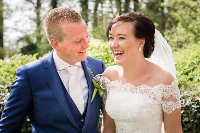 Bruiloftsfotografie Nijmegen, door Sandy Peters uit Oss bij Slot Doddendael