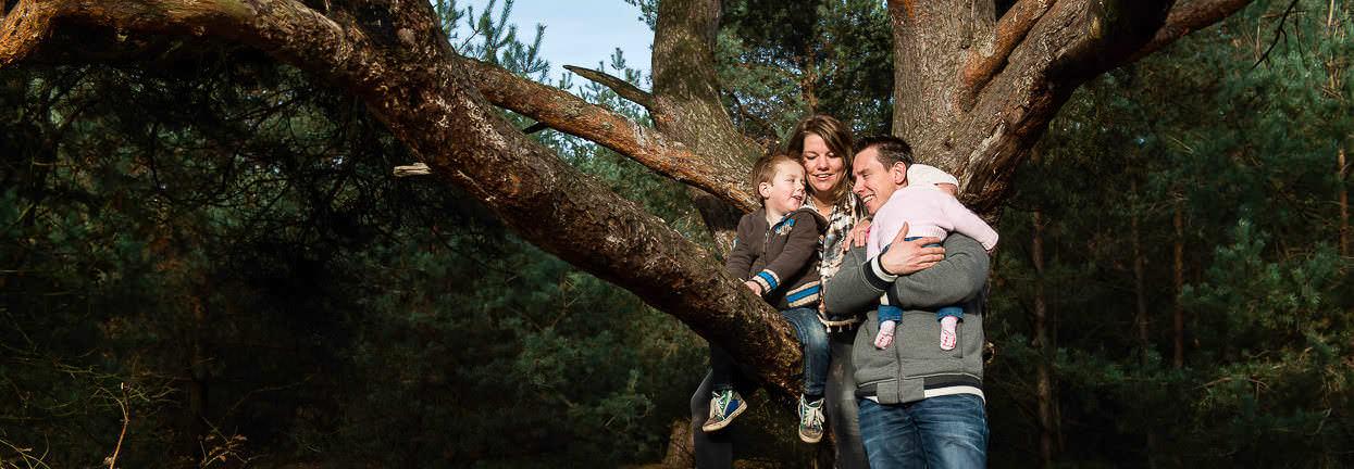 Familie fotoshoot door fotograaf Nijmegen Sandy Peters