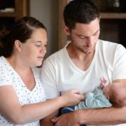 Baby fotoshoot Heeswijk-Dinther door fotograaf Sandy Peters uit brabant
