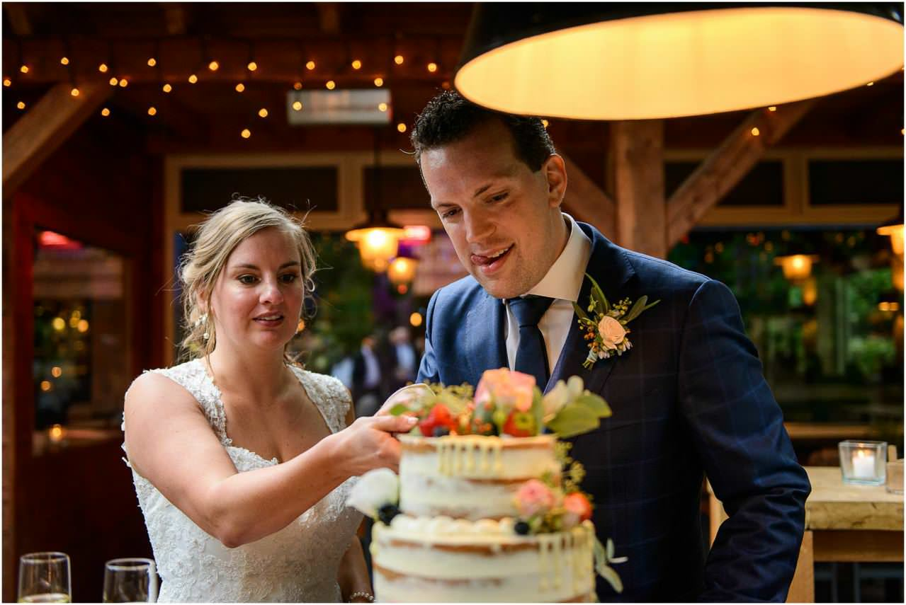 Bruiloft fotograaf Meneer van Eijck door bruidsfotograaf Sandy Peters