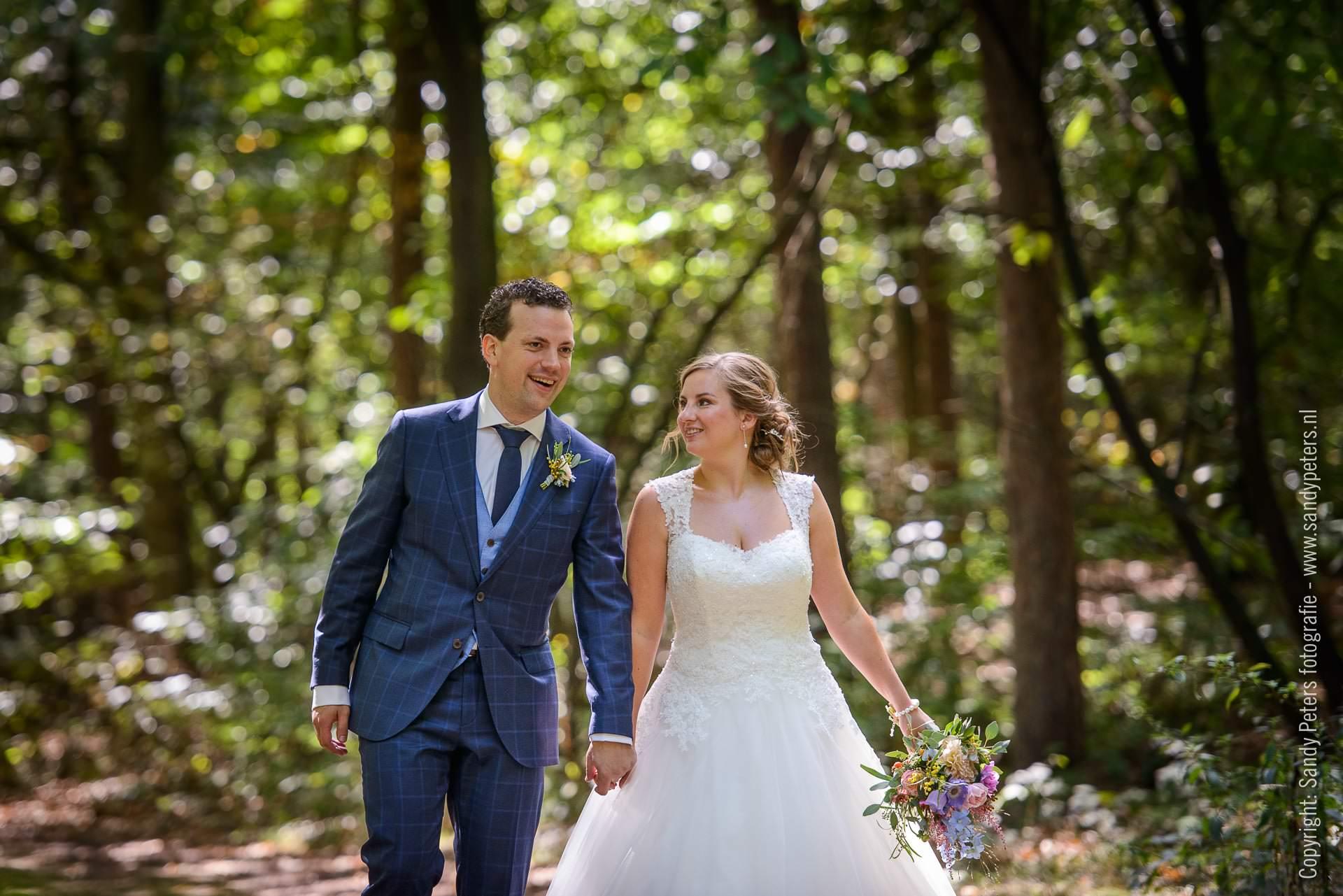 Bruiloftsfotografie Meneer van Eijck in Oisterwijk door bruidsfotograaf Sandy Peters uit Brabant